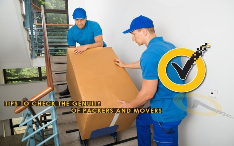 Tips to Check the Genuity of Packers and Movers